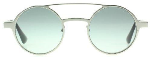 - Prada 69OS 1AP3M1 Silver 69OS Portrait Round Sunglasses Lens Category 2