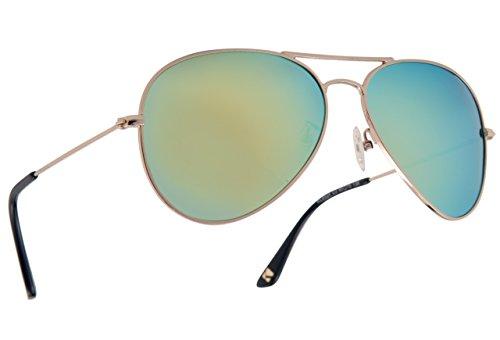 KALLA Asian Fit Polarized Sunglasses- - Aviators Asian Fit