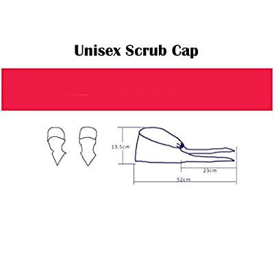 charts_DRESS Doctor Surgical Scrub Hat,Unisex Nurse Scrub Cap Work Beautician Dustproof Hat,Bouffant Ponytail Hats,One Size Fit All: Home & Kitchen