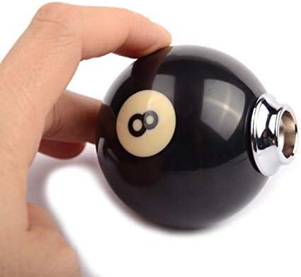 AutoBoy Universal Schaltknauf Schwarz Ball Shape Auto Schaltknauf Schaltkopf f/ür Most manuellen und automatischen Autos ohne Lock Taste