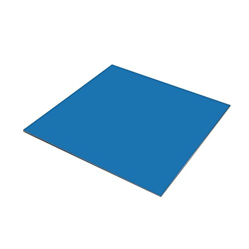 (Online Metal Supply Chevron Blue Painted Aluminum Sheet .040