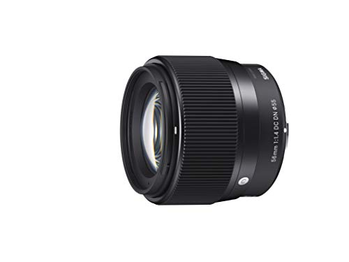 Sigma 56mm for E-Mount (Sony) Fixed Prime Camera Lens, Black (351965) (Sigma Sony Lenses)