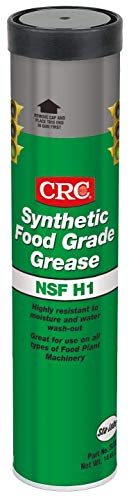 CRC SL35610 Synthetic Food Grade Grease, 14 Ounce, Clear, Colorless Grease (Limited Edition)