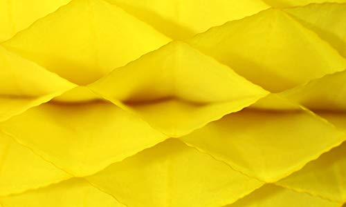(3-Pack Honeycomb Paper Craft Pads, Mini Quarter Inch Glue Line, Yellow (Pad Size 7 X 9.5 Inches))