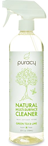 Puracy Natural All Purpose Cleaner - THE BEST Household Cleaner - Streak-Free Multi-Surface Spray - Superior Results on Glass & Stainless Steel - Child & Pet Safe