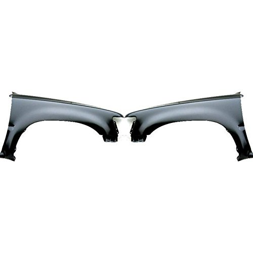 Evan-Fischer EVA16972055128 Fender Compatible with 1989-1995 Toyota Pickup Set of 2 Steel Primed Front Left and Right Side ()