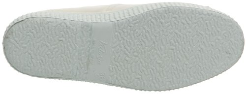Victoria Inglesa Elastico Tenido Punt - Zapatillas de deporte de tela para mujer Blanc (20 Blanco)