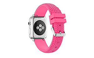Apple Watch Band, Supore Soft Silicone Replacement Edition Sport for 42mm Apple Watch Strap 2015 & 2016 Series1 Series2