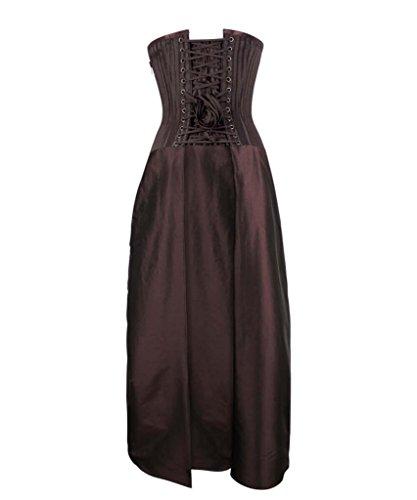 Damen JapanAttitude JapanAttitude Braun Damen Kleid zHqwpnp1