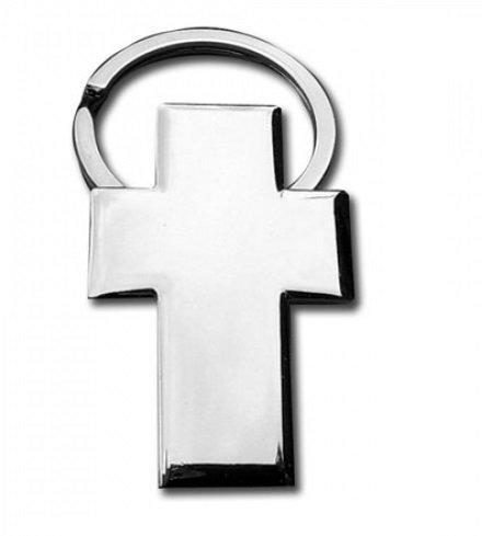 Llavero cruz metálico - Pack de 6 unidades: Amazon.es: Hogar