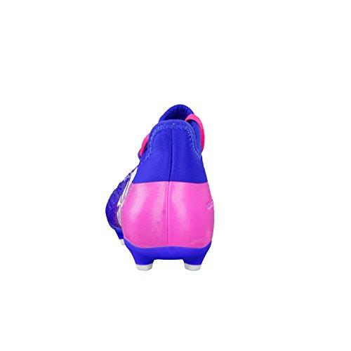 adidas X 16.1 Fg J, Botas de Fútbol para Niños bleu/blanc/rose
