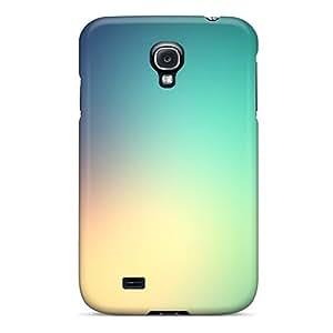 HHaroldshon IOAYjop5871nwtIg Case For Galaxy S4 With Nice Green Yellow Blue Soft Haze Appearance