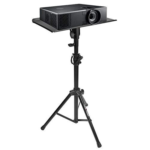 Hola! Music HPS-300B Heavy Duty Professional Multi-Purpose DJ Tripod Stand - Laptop Stand, Projector...