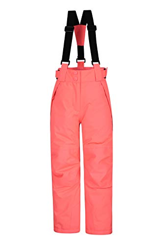 Mountain Warehouse Pantalon de Ski Enfants Falcon Extreme – Coutures soudées, Imperméable, Guêtres Pare-Neige, Poches sécurisées – Idéal pour Le Ski et Les Vacances