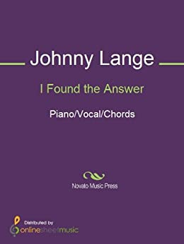 Found the Answer - Kindle edition by Johnny Lange. Arts