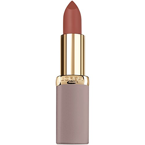 L'Oreal Paris Cosmetics Colour Riche Ultra Matte Highly Pigmented Nude Lipstick, Defiant Orchid, 0.13 Ounce