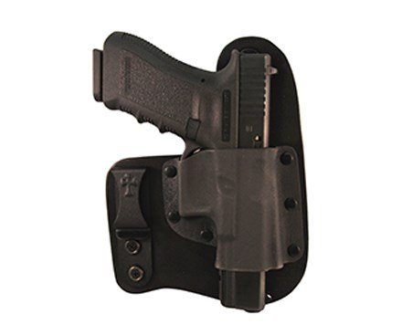 CrossBreed Holsters - Freedom Carry (IWB) Holster for Glock 17/19/22/23/25/31/32/34/35 - Black by CrossBreed Holsters