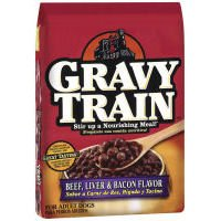 Gravy Dog Food Beef Liver & Bacon Flavor 16LB (Pack of (Gravy Train Beef Flavor)