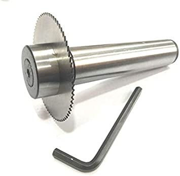 SLITTING//SLOTTING SAW HOLDER WITH CIRCULAR SAW BLADE STRAIGHT SHANK 1//2/""