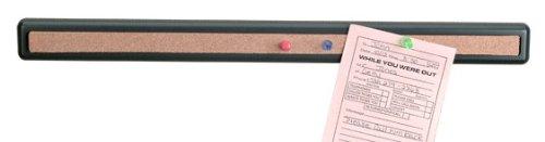 Officemate Verticalmate Cork Bar, Slate Gray (29212)