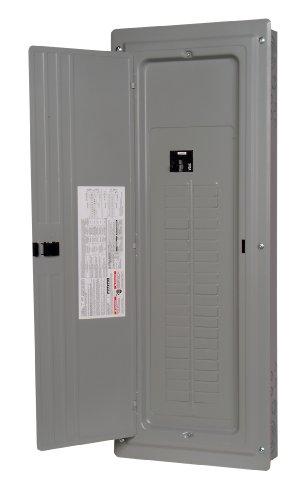 (Murray LC4040B1200CU Load Center, 40 Space, 40 Circuit, 200A, Main Breaker, Copper bus)