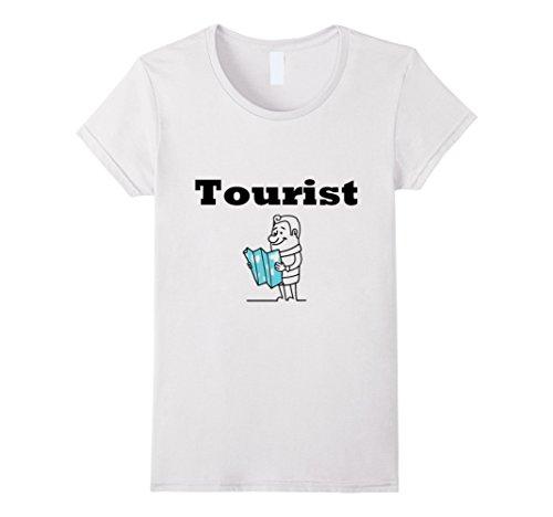 Kids Tourist Costume (Womens Tourist T-Shirt For Family Men, Women,Teens,Kids,Boys, Girls Large White)