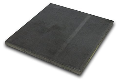 Hot Rolled Steel Plate 1/4'' x 10'' x 10'' by IMS