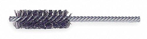 3/8'' Power Spiral Brush, Double Shank, 1-1/2'' Brush, 4'' Overall Length, 10 PK