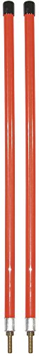 Buyers Products 1308106 Orange Sight Rod for Snow Plows (Stud Mount)