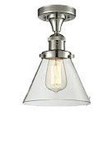 One Light Semi Flush Mount Innovations - Innovations Lighting 517-1CH-PN-G42