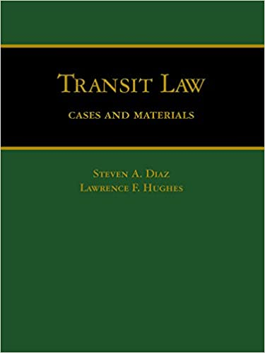 Transit Law: Cases and Materials