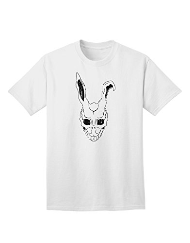 Donnie Darko Bunny - TOOLOUD Scary Bunny Face White Distressed