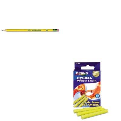 (KITDIX13882DIX31344 - Value Kit - Prang Hygieia Dustless Board Chalk (DIX31344) and Ticonderoga Woodcase Pencil (DIX13882))