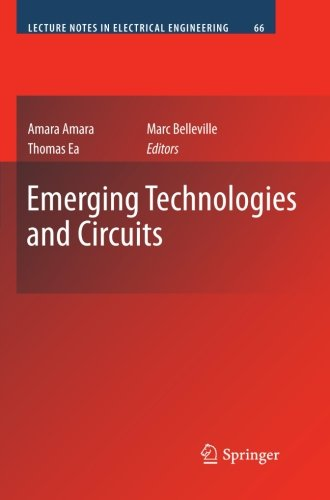 Emerging Technologies and Circuits (Lecture Notes in Electrical Engineering) by Brand: Springer