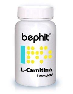 L-CARNITINA + LEVADURA DE CERVEZA + VITAMINA B BEPHIT - 90 cápsulas de 605