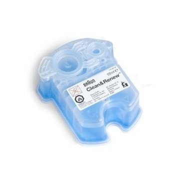 Braun Syncro Shaver System Clean & Renew Refills Shaver Refills