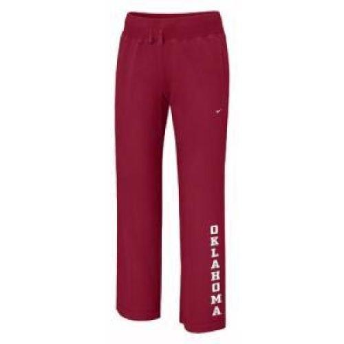 NIKE Oklahoma Sooners Women's Classic Knit Pant - Women - XL ()