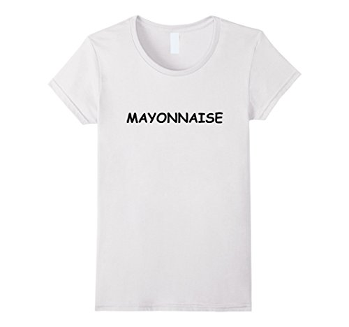 Work Appropriate Group Costumes (Womens Mayonnaise Shirt Ketchup Mustard Halloween Group Costume Tee XL White)