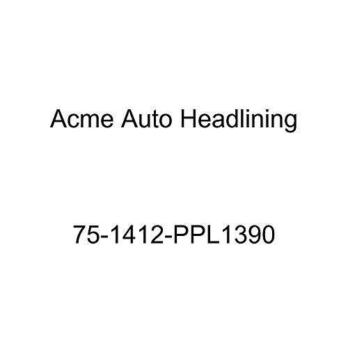 Acme Auto Headlining 75-1412-PPL1390 Maroon Replacement Headliner (1975 Chevy Caprice and Impala Custom 2 Dr Hardtop w/Qtr Window (5 Bow))