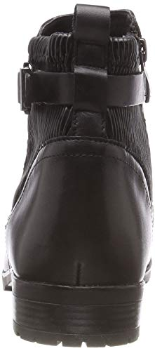 para Caprice Blk Mujer Botines 45 comb Elast 25350 Negro nnpvPxaO