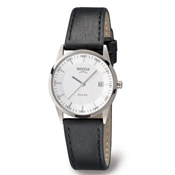 Boccia Dress 3184-01 Ladies Watch with Leather Strap