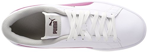 gray magenta Eu Smash White Violet V2 Mixte Puma Enfant Jr 08 37 L Basses Haze White Sneakers puma fig Blanc T6qvOdx
