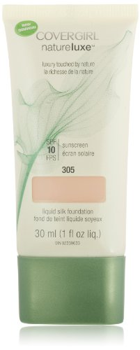 Covergirl NatureLuxe Silk Foundation Albâtre 305, 1 once