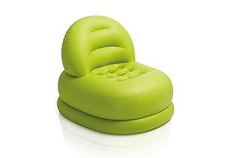 Amazon.com: Intex Modo silla hinchable 68592ep Verde ...