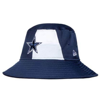 Dallas Cowboys New Era 2019 Draft Mens Bucket Hat -