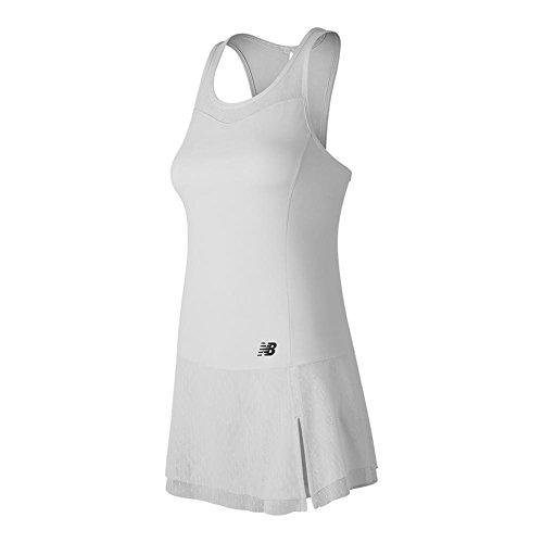 New Balance Women's Tournament Dress, White, - Balance Running Skirt New