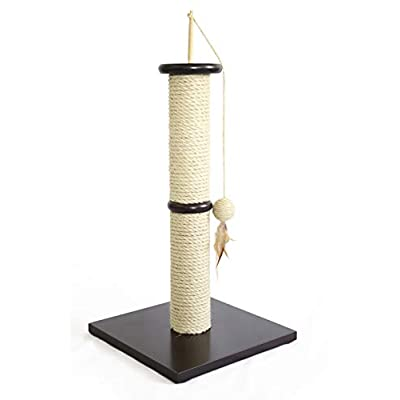 Cat Scratching Post AmazonBasics Cat Scratching Post with Toy [tag]