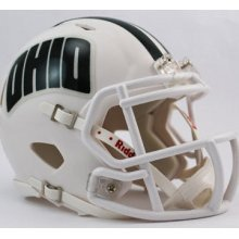 bcats Speed Mini Football Helmet (Ohio Bobcats Replica Mini Helmet)
