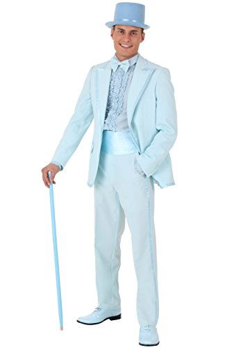 Dumb and Dumber Harry Tuxedo Costume Large Blue ()