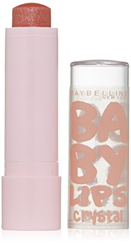 Maybelline New York Baby Lips Crystal Lip Balm, Twinkling Taupe, 0.15 Ounce